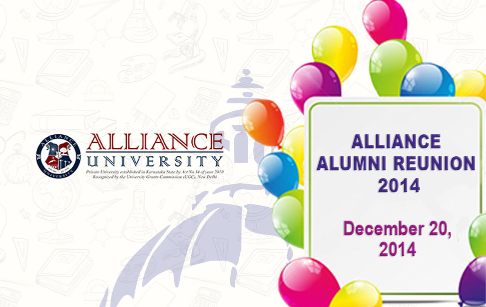 Alliance Alumni Reunion 2014, December 20, 2014