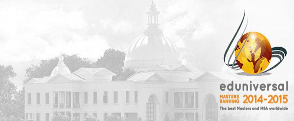 Eduniversal MBA Rankings 2014/15