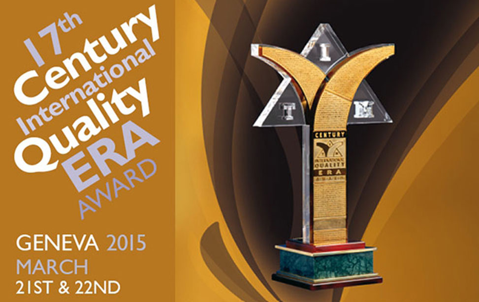 Century International Quality: ERA (CQE) Award
