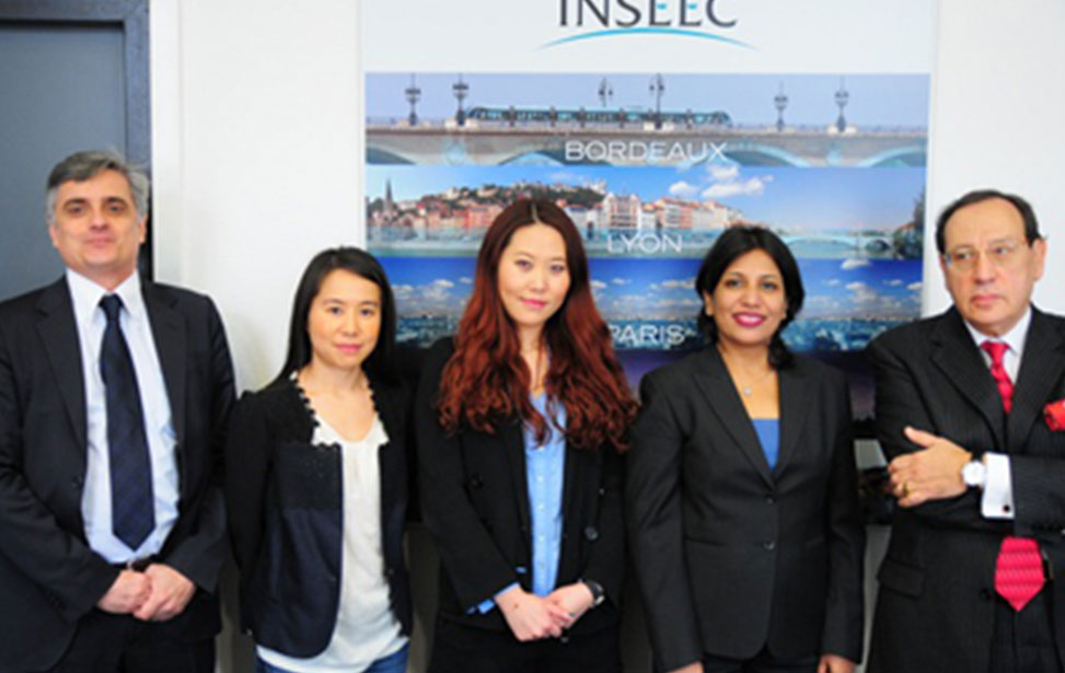 New International Collaboration with INSEEC