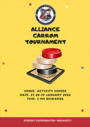 Alliance Carrom Tournament
