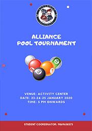 Alliance Pool Tournament