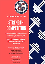 Alpha Pride 3.0 - Strength Competition