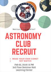 Astro Club Recruitment