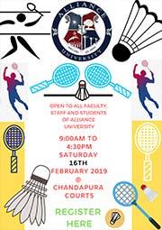 Badminton Tournament - Chandapura Courts