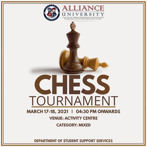 Alliance Chess Tournament - 17 & 18 March, 2021