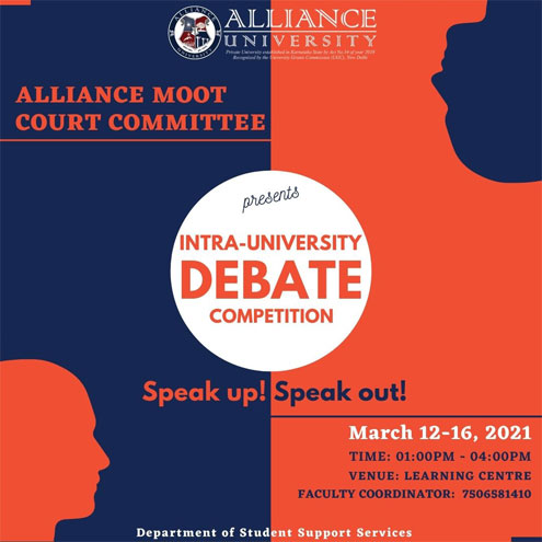 Intra-University Debate Competition