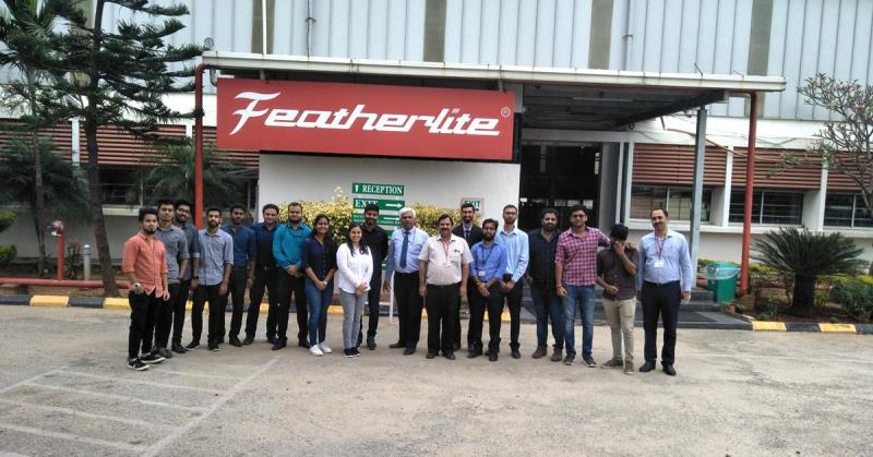 Industry Exposure Visit to FeatherLite Industries