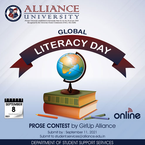 Global Literacy Day - Prose Contest
