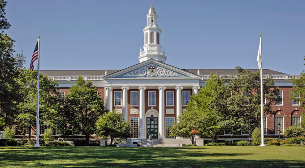 Harvard Business School Faculty engages with Alliance School of Business students