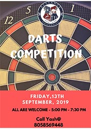 Intramural Dart Competition
