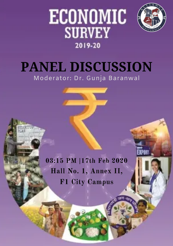 Panel Discussion on Economic Survey