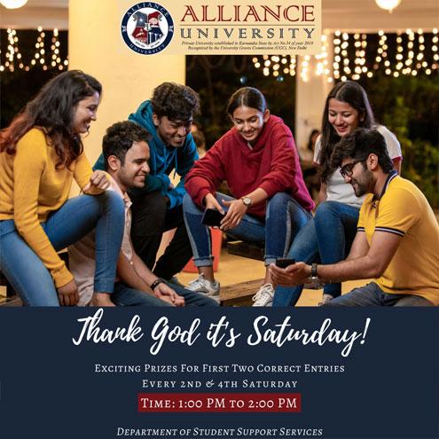 TGIS Thank God it's Saturday - 13& 27March, 2021