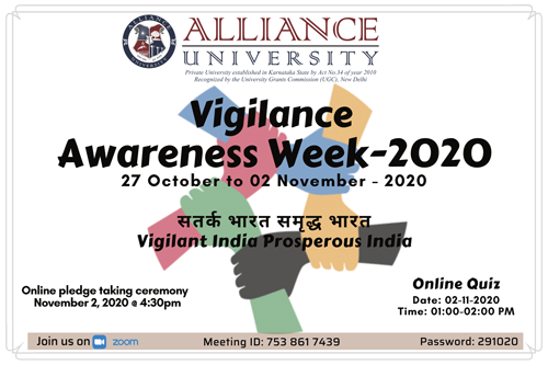 Vigilance Awareness Week-2020