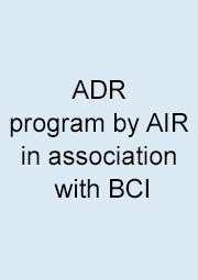 ADR program by AIR in association with BCI