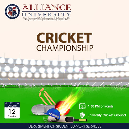 Alliance Cricket Tournament
