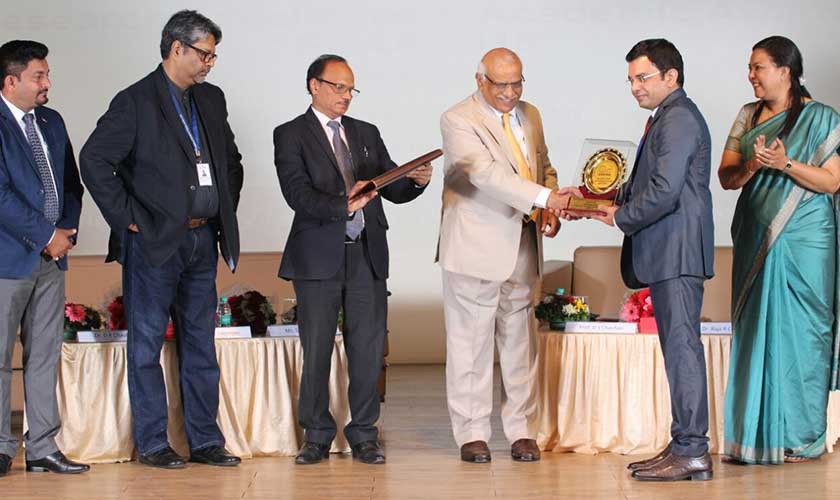 Alliance School of Business Professor Wins the Best Academician of the Year Award – REAA-2018