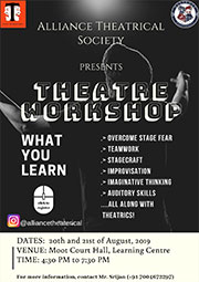 Workshop By Alliance Theatrical Society