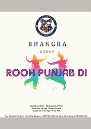Alliance Bhangra Group Auditions