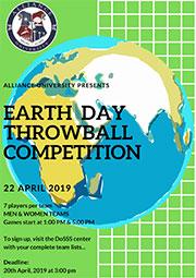 Earth Day Throw Ball Championship