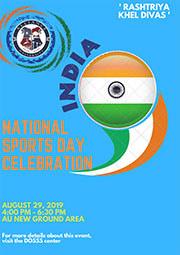 National Sports Day celebration