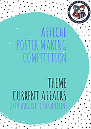 Affiche Poster Making Competition