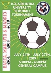 Intra-University Football Tournament
