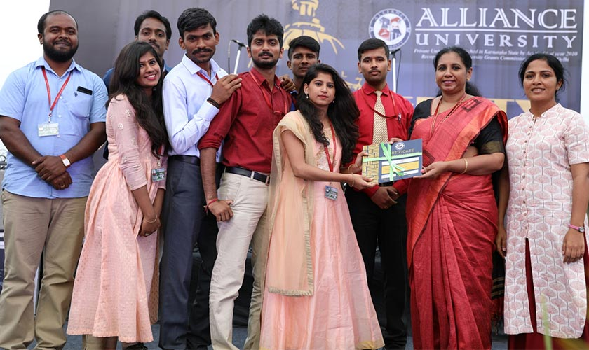 Alliance University celebrates its IX Foundation Day.