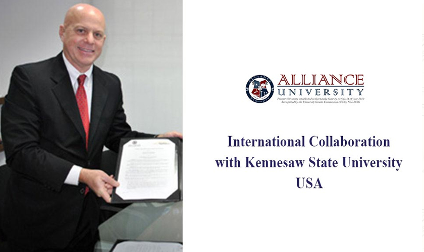 New International Collaboration with Kennesaw State University, USA