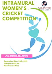 Intramural Women's Cricket Competition