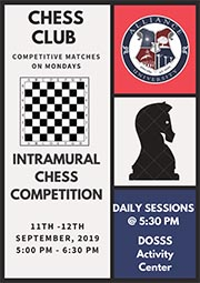 Intramural Chess Competition