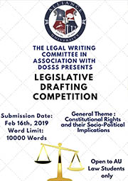 Legislative Drafting Competition