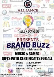 Marketrix club presents Brand Buzz