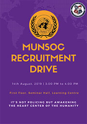 Model United Nations Society Recruitment Drive
