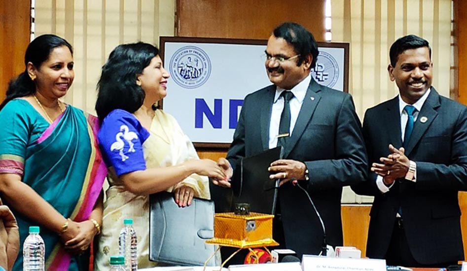 MoU with National Design Research Forum (NDRF)