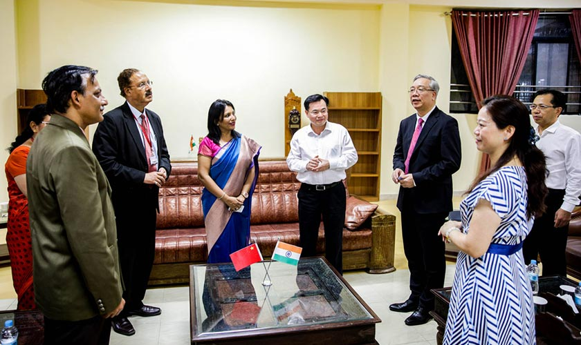 Alliance University Signs MoU with Fujian Provincial Department of Education, China on 14th August 2018