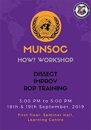 MUNSOC presents How Workshop