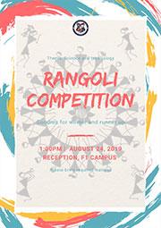 Rangoli Competition