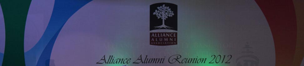 Alliance Alumni Reunion 2012