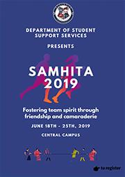 SAMHITA 2019