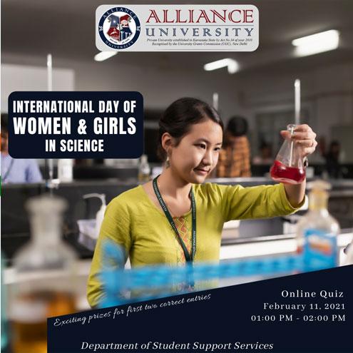 International day of Women & Girls in Science