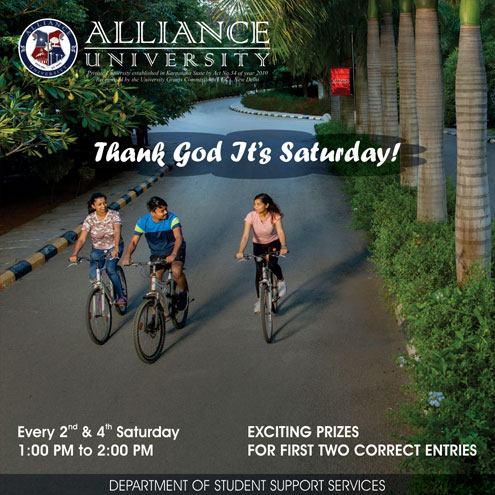 Thank God its Saturday (14th & 28th August 2021)
