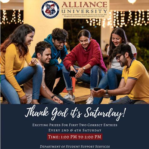 TGIS Thank God it's Saturday - 13th & 27th February, 2021