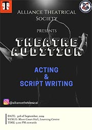 Alliance Theatrical Society Auditions