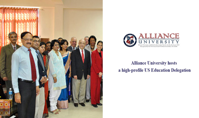 Alliance University hosts a high-profile US Education Delegation