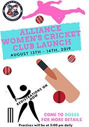 Women's Cricket Club Launch