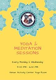 Yoga & Meditation Sessions