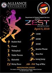 Zest Sports Day