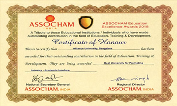 ASSOCHAM Education Excellence ...