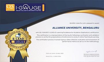 Alliance University, Bengaluru ...